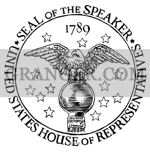 Image of HOUSE OF REPRESENTATIVES. - Seal Of The Speaker Of The