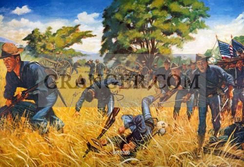 Image of GATLINGS TO THE ASSAULT. - The Gatling Gun ...