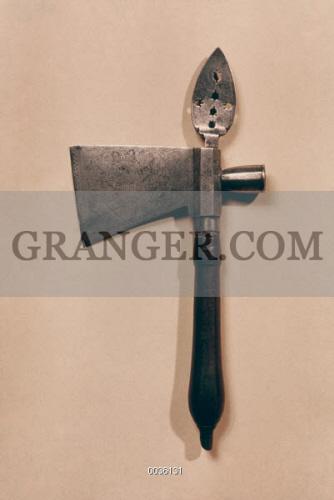 Image of NATIVE AMERICAN TOMAHAWK  - Pipe Tomahawk, C1800