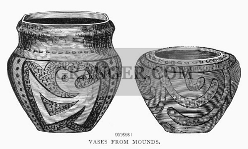 Image Of Mound Builders Vases Vases Of The Mound Builders