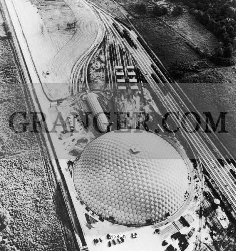 Louisiana Dome House: Image Of GEODESIC DOME, 1958.