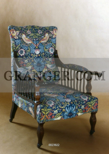 Image of WILLIAM MORRIS: CHAIR. - The 'Saville' Armchair ...