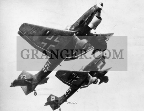 Image of GERMAN BOMBERS  - German Stuka Dive Bombers