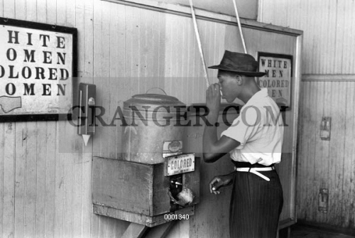 JIM CROW LAWS, 1939. 