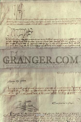 Image of tudor monarchs signatures of the tudor for Tudor signatures