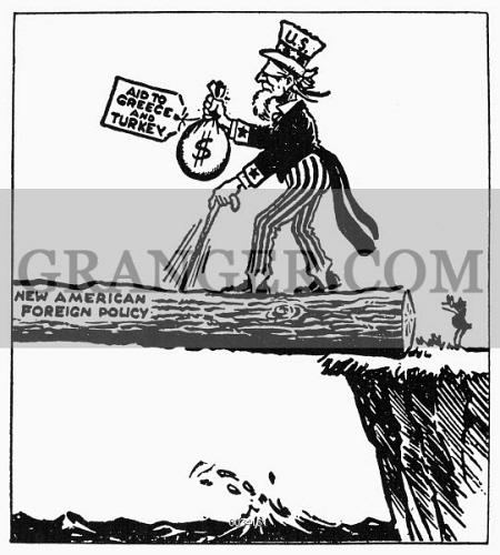 image of truman doctrine cartoon where to american cartoon Political Cartoons 1865 to 1893 truman doctrine cartoon where to american cartoon ment 1947 on