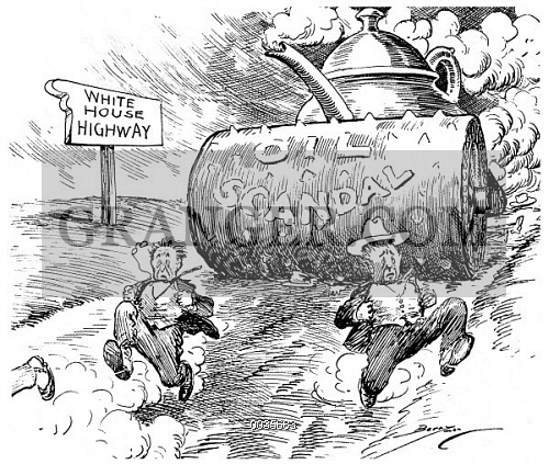 Image Of Teapot Dome Scandal Washington Officials Try To Outpace