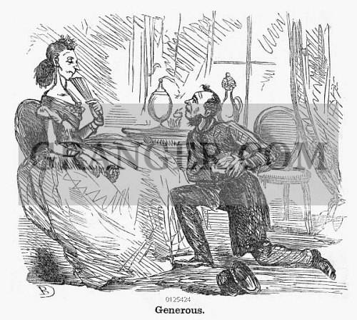 Image of MARRIAGE PROPOSAL  - A Poor Man Proposing To A