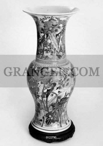 Image Of China Porcelain Vase Porcelain Beaker Vase Decorated