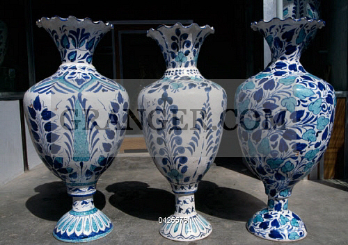 Image Of Decorative Arts Handcrafted Ceramic Vases Hyderabad