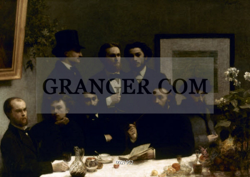 Image Of Fantin Latour Table 1872 Un Coin De Table A