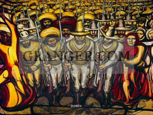 SIQUEIROS: MURAL, 1950s. 