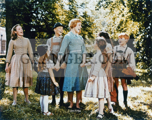 Image of SOUND OF MUSIC, 1965  - Scene From The Film 'The