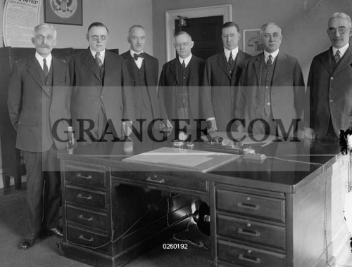 Image of FEDERAL RESERVE BOARD  - Members Of The Federal