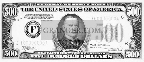 What president is on the 500 dollar bill
