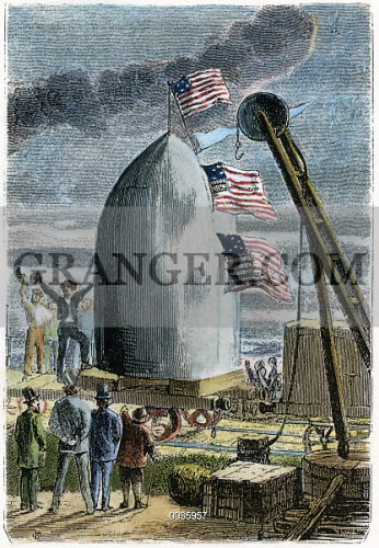 an analysis of from the earth to the moon by jules verne Jules verne's moon gun, as described in his 1865 novel from the earth to the   analysis to arrive at the design of his cannon and manned moon projectile.