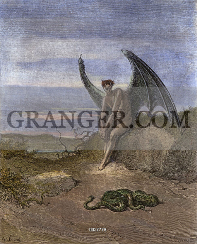 """paradise lost the devil compar Nearly all historical cultures have some mention of a """"paradise"""" that has been lost """"that old serpent"""" is the title given to the devil paradise lost."""