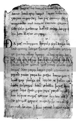 when and where was beowulf written