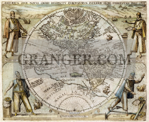 WESTERN HEMISPHERE, 1596. 