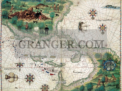 new world map 1547 map of the west indies and central american from the
