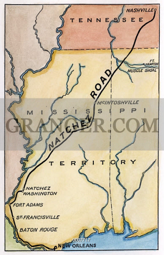 NATCHEZ TRACE, 1816. 