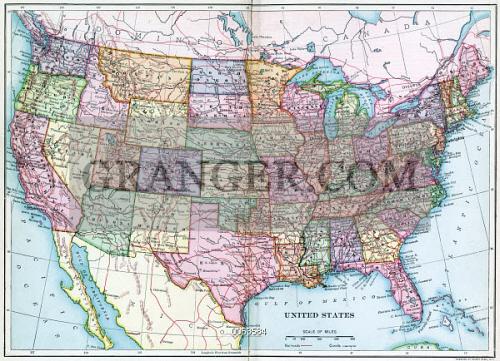 Alaska Map Continental Us - Continental us map