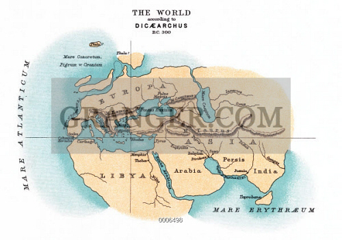 WORLD MAP, c300 B.C. 
