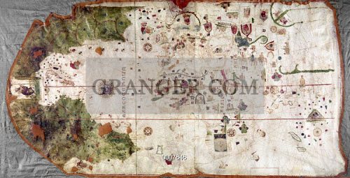NINA: WORLD MAP, 1500. 