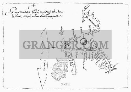 Florida To Cuba Map.Image Of Map Caribbean 1599 Map Of Cuba The Bahamas And