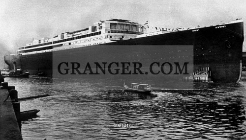 Image of SS BISMARCK, C1914  - The Largest Ship In The World At The