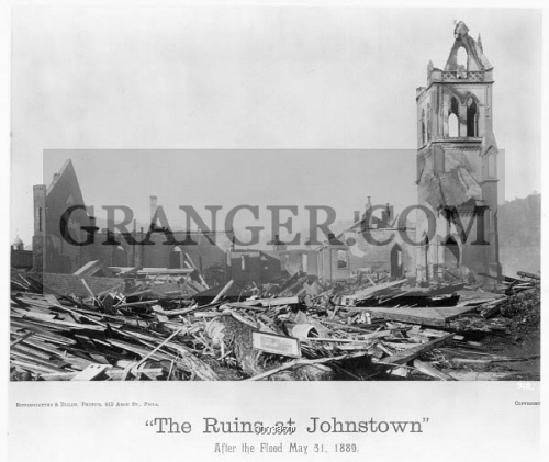 JOHNSTOWN FLOOD, 1889. 