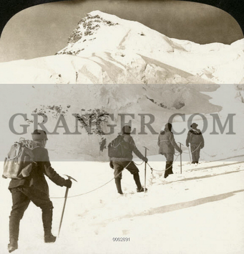 ALPINE MOUNTAINEERS, 1908. 