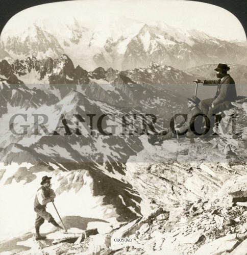 ALPINE MOUNTAINEERING, 1908. 