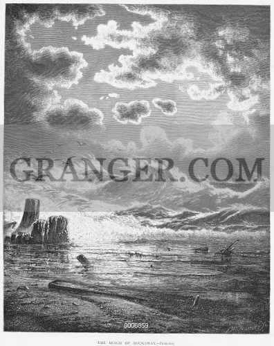 SEASCAPE, 1871. 