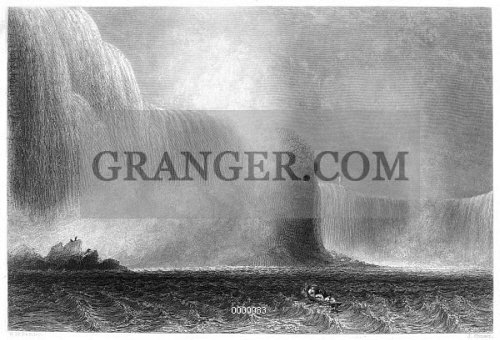 NIAGARA FALLS, 1838. 
