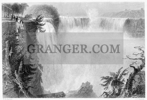 NIAGARA FALLS, 1839. 