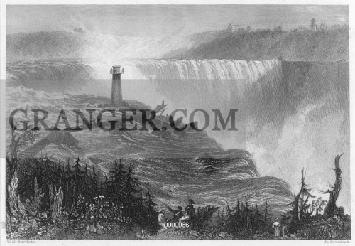 NIAGARA FALLS, 1837. 