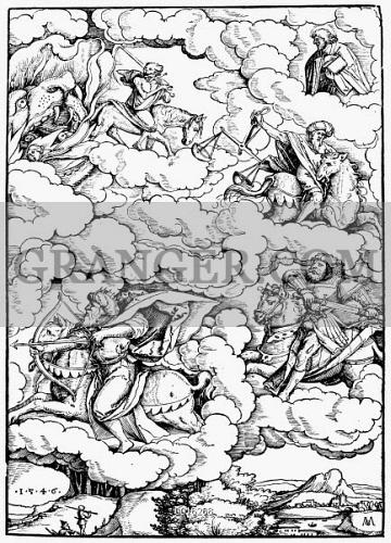 Image of FOUR HORSEMEN  - The Four Horsemen Of The