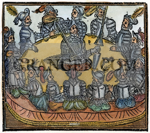 history and origin of king arthur and the knights of the round table Synopsis king arthur is a medieval, mythological figure who was the head of the kingdom camelot and the knights of the round table it is not known if there was a real arthur, though it is.