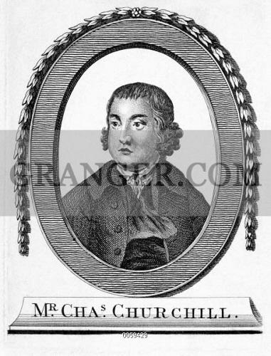 Image Of Charles Churchill 1731 1764 English Satirical Poet