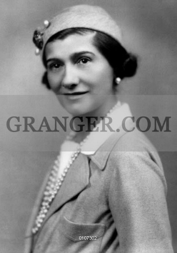 Image Of Gabrielle Coco Chanel 1883 1971 French Fashion Designer Photograph Early 20th Century From Granger Historical Picture Archive