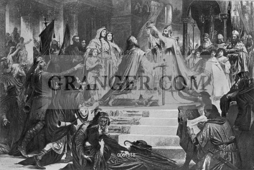 Image of CHARLEMAGNE (742-814). - King Of The Franks, 768-814, And ...