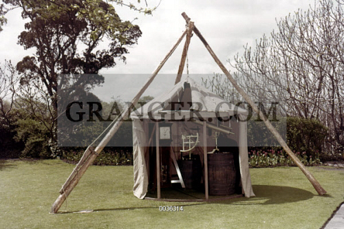 Astronomical observatory tent used by Captain James Cook. & Image of COOK: ASTRONOMY TENT. - Astronomical Observatory Tent ...
