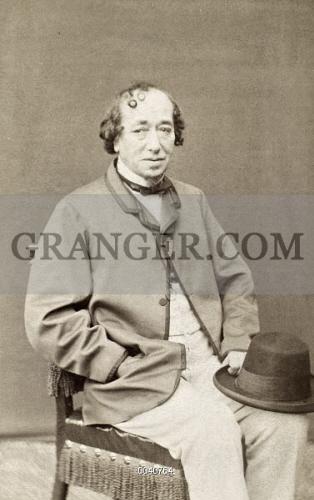 BENJAMIN DISRAELI 1804 1881 1st Earl Of Beaconsfield English Statesman And
