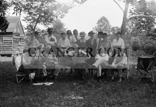 Image of FORD AND FRIENDS, C1923  - Henry Ford, Thomas
