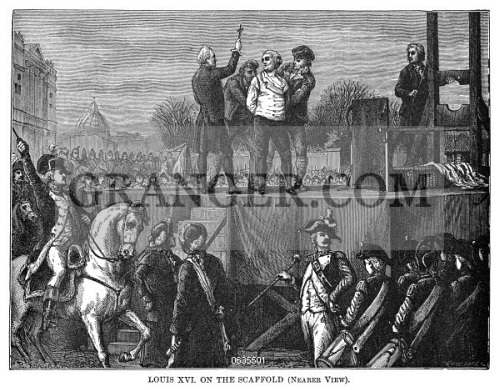 When was king louis xvi executed