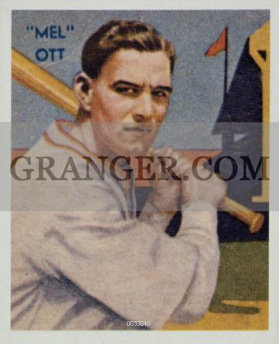 Image Of Melvin Thomas Ott 1909 1958 American Baseball Player