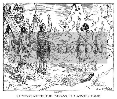 Image Of PIERRE ESPRIT RADISSON  16361710 Canadian Fur Trader And Explor