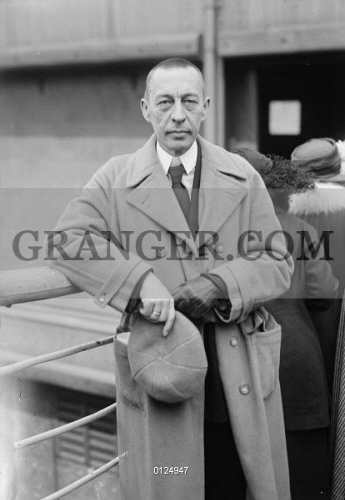 Image of SERGEI RACHMANINOFF - (1873-1943)  Russian Composer