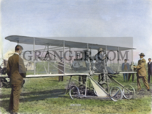 Image Of Orville Wright 1871 1948 American Aviation
